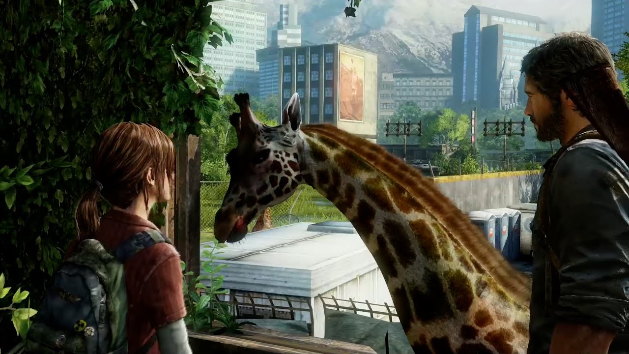 Seeing Joel and Ellie After 7 Years - The Last of Us Part