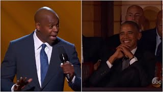 Dave Chappelle On Opening Tribute To Black Comedians & Barack Obama || Dave Chappelle
