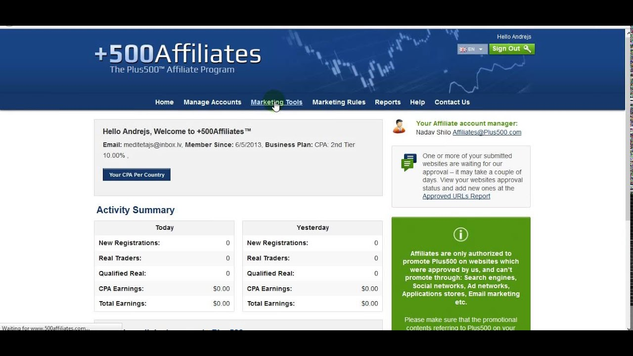 Best forex affiliate program