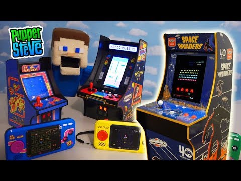 VIDEO GAME HEAVEN!! My Arcade, Arcade 1up PAC MAN NEW 2019 Games!