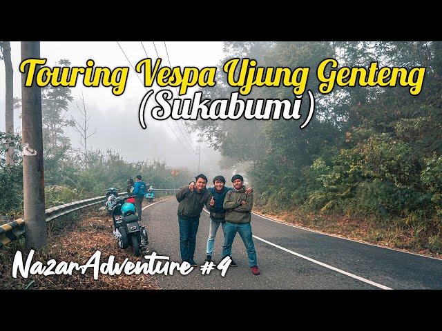 Touring Vespa ke Ujung Genteng Sukabumi