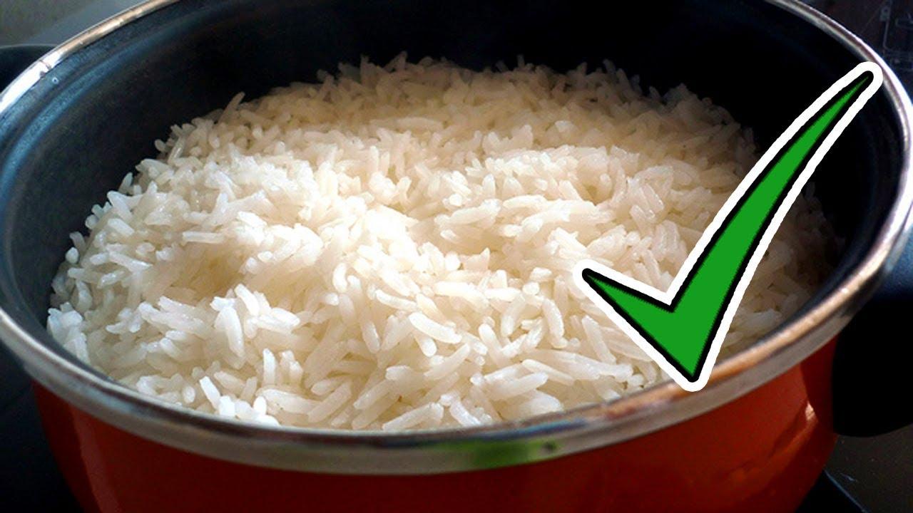 Como se hace el arroz blanco