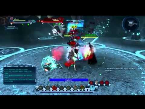 DCUO:zRam vs ORBIT Shadow land 1vs1