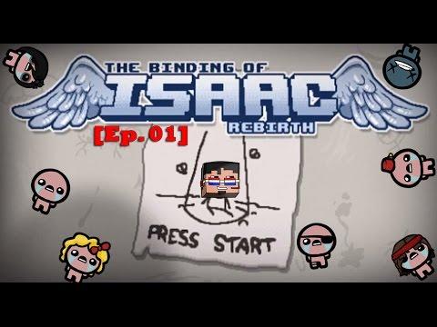 Isaac & cia estan de vuelta! #TheBindingOfPinkman [Ep. 01]