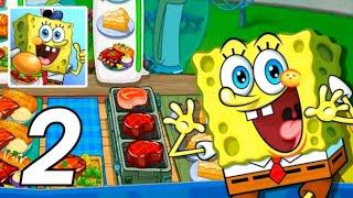 SPONGEBOBKrusty CookOff |Gameplay -Walkthrough -Part 2 [iOS -Android]