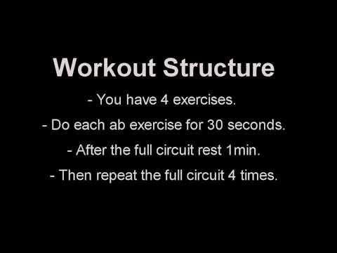 Get 6 Pack Abs in 12 minutes, This Workout Works!_HD