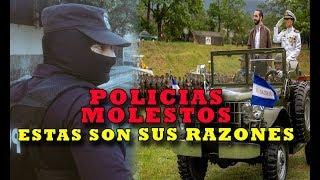POLICÍAS ENCACHIMBADOS CON GOBIERNO no ven promesas cumplidas