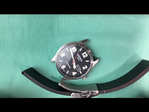 Bonetto Cinturini Rubber Watch Strap Instructions And Review