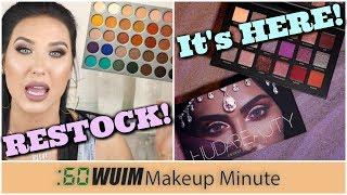 Jaclyn Hill X Morphe Palette RESTOCK DATE! + Huda Beauty Desert Dusk Is HERE! | Makeup Minute