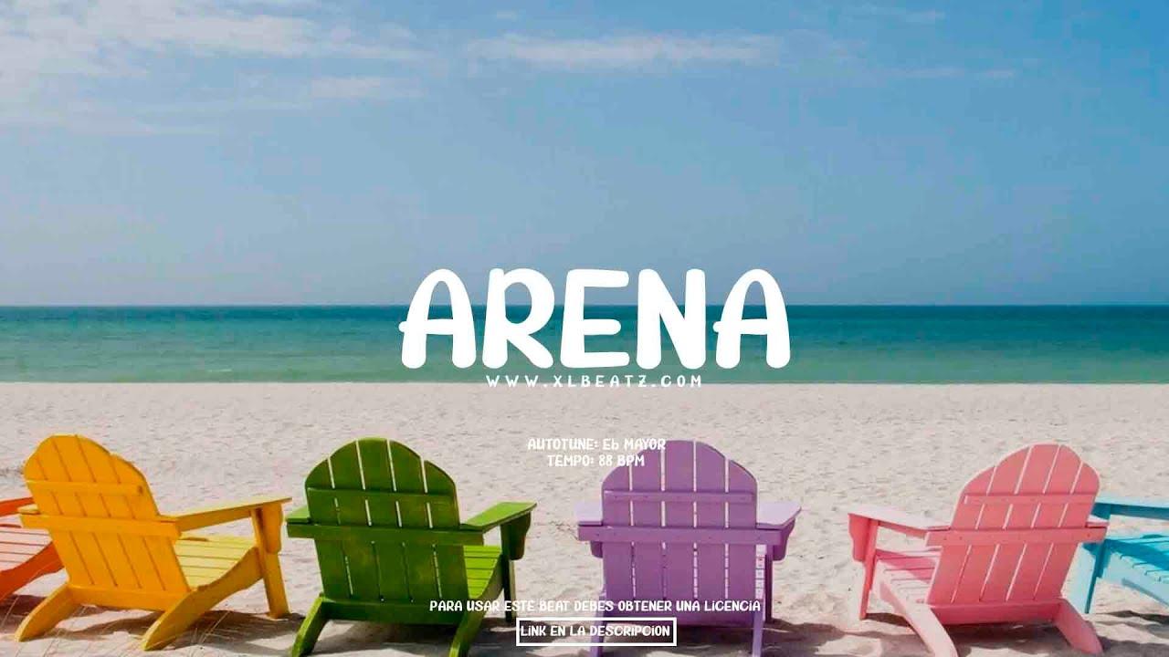 "Instrumental de REGGAETON ""Arena"" | Beat Reggaeton Romántico"