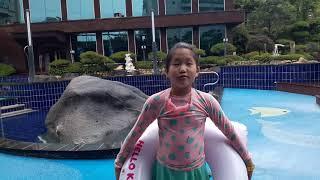 양평쉐르빌온천호텔 수영…
