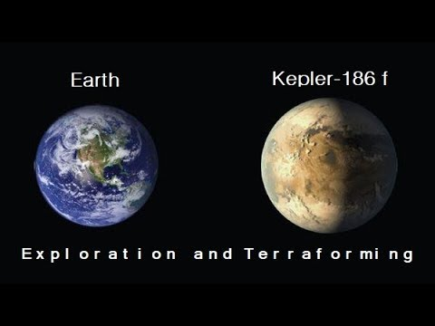 Kepler-186 f - One of the best candidates for a Terrestrial World - SpaceEngine & UniverseSandbox 2
