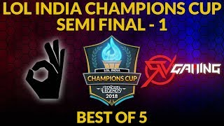Ruthless Gaming vs Eximious eSports - Semifinal 2  - LoL India Champions Cup