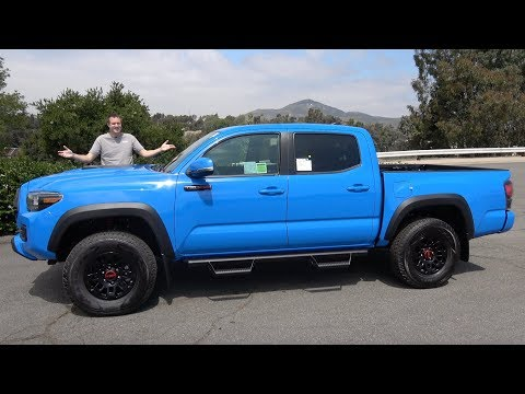 Here's Why the Toyota Tacoma TRD Pro Is an Awesome Midsize Truck