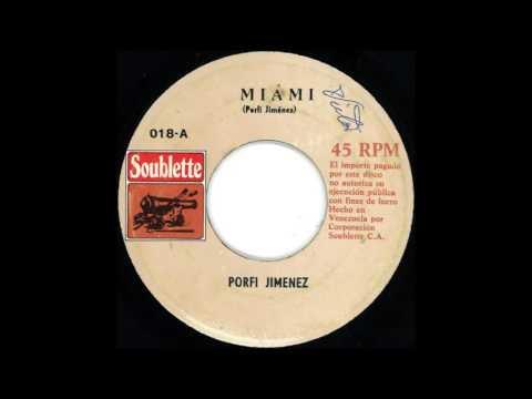 RARE LATIN FUNK: Porfi Jimenez - Miami