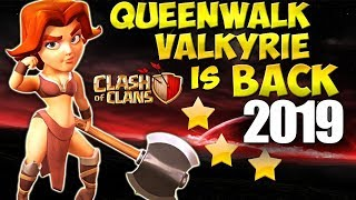 Queen Walk VALKYRIE is BACK - VaHo - SUPER STRONG War Attack Strategy for TH9 2019 Clash of Clans