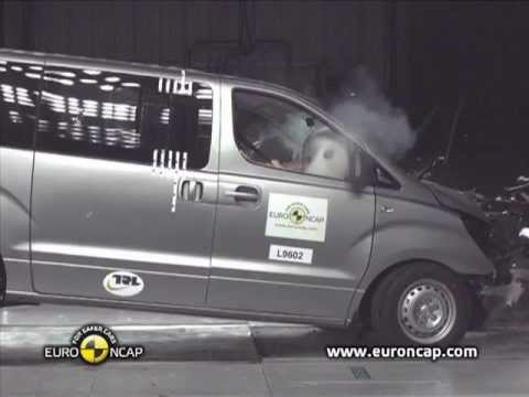 hyundai h1 crash test 2012 youtube. Black Bedroom Furniture Sets. Home Design Ideas
