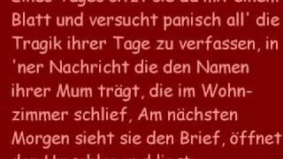 Repeat youtube video Schlaflos - Fliegen Lyrics
