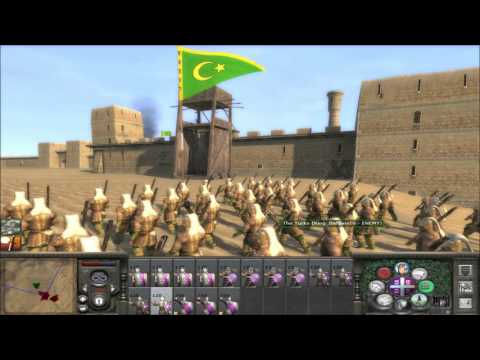 M2TW Online Battle #115: 10k Byzantines vs 15k Turks