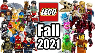 Top 20 Most Wanted LEGO Sets of Fall 2021!