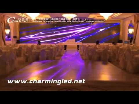 Arab's hall P20 led dance floor and P4 led screen