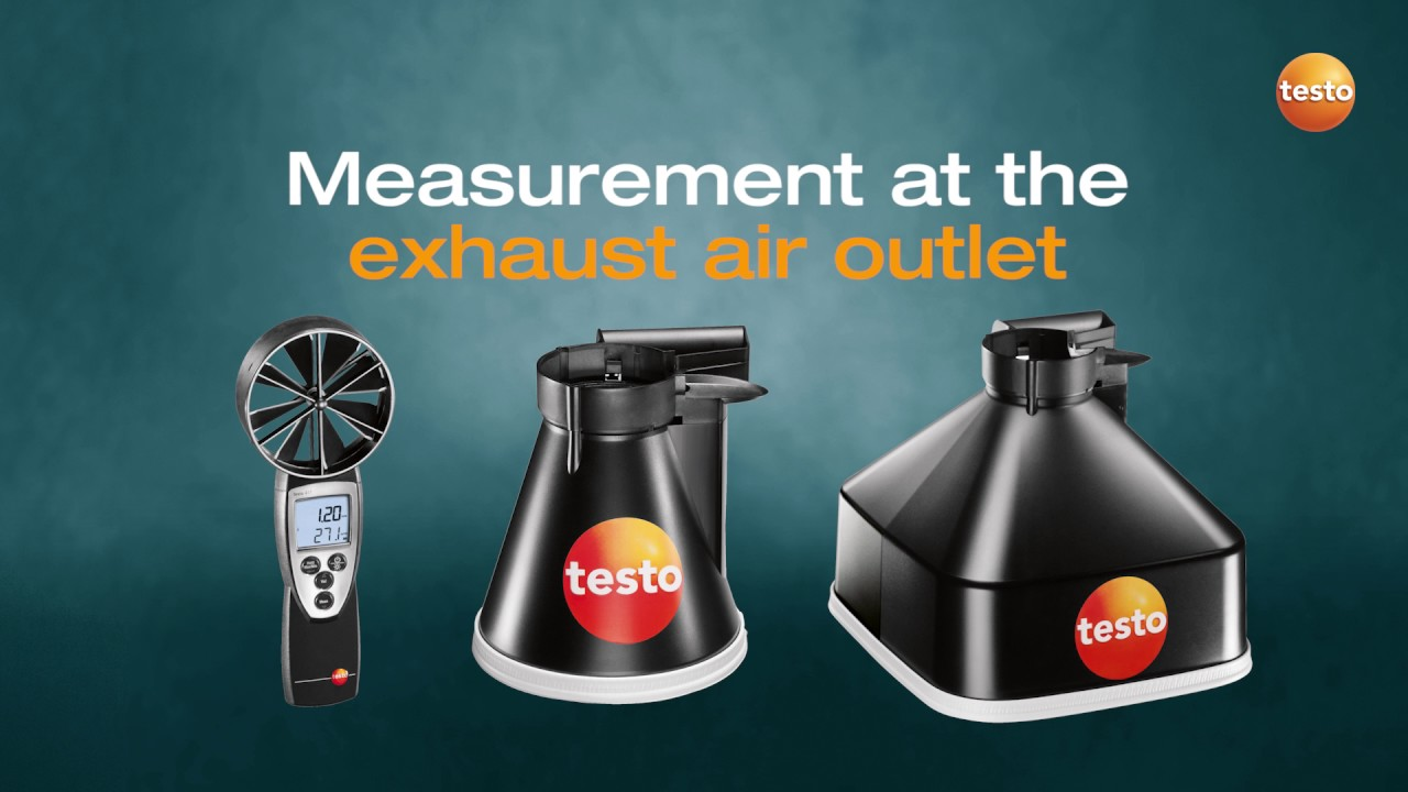 Measuring Air Flow Made Easy With Testo 417 - YouTube