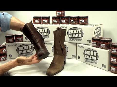 How to Condition Leather with Boot Guard® Leather Dressing