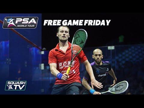 Squash: Free Game Friday - Gaultier v Mar. ElShorbagy - El Gouna Open 2017