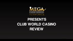 Club World Casino Review & Ratings by megacasinobonuses