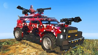 Video NEW STRONGEST MILITARY VEHICLE! - GTA 5 DLC download MP3, 3GP, MP4, WEBM, AVI, FLV September 2018