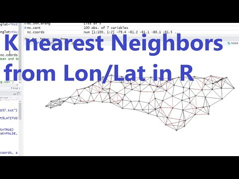 R Spatial Data 2: KNN From Longitude And Latitude