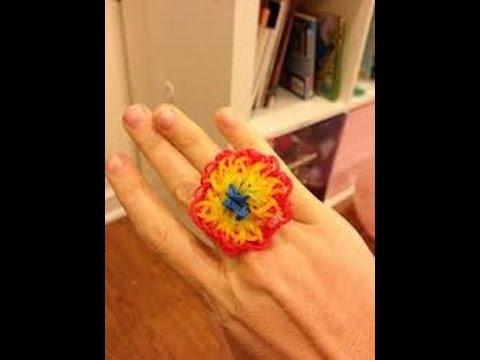 rainbow loom nederlands rainbow loom starburst ring