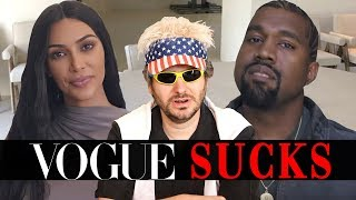 Download Vogue's 73 Questions is Stupid (Ft. Kim Kardashian & Kanye West) Mp3 and Videos