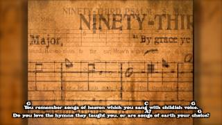 """Will the Circle Be Unbroken?"" Bluegrass Gospel Hymn (with Guitar Chords)"