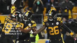 MY NFL 2018-2019 REGULAR SEASON PREDICTIONS
