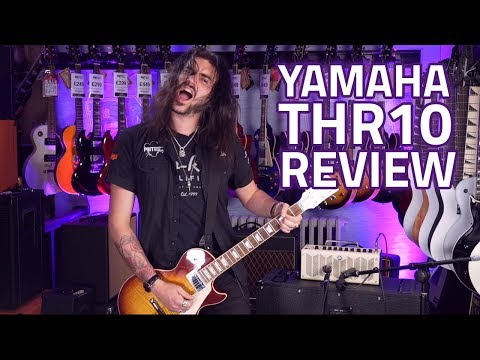 Yamaha THR10 Valve Modelling Guitar Combo Amp Review