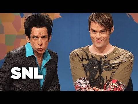 Weekend Update: Stefon and Derek Zoolander Ben Stiller on Autumns Hottest Tips  SNL