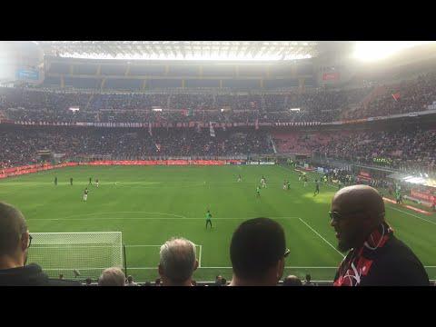 Secondo tempo Milan Genoa..Forza ragazzi