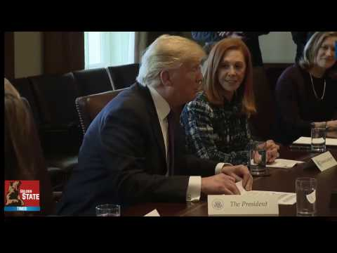 President Donald Trump and Canadian PM Justin Trudeau discuss Business with Woman Company Leaders!!!