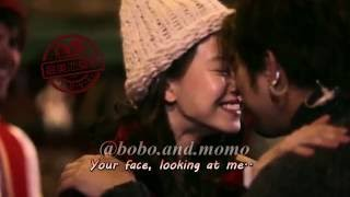 [Clip] Cute Bolin's eskimo kiss to Ji Hyo - Bobo x Momo (Chen Bolin & Song Ji Hyo)