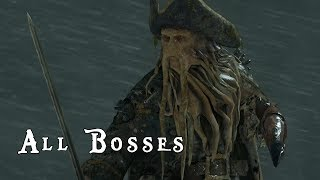 Pirates of the Caribbean: At World's End | All Boss Duels | Final Battle [X360, PS3]