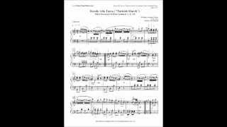 Rondo Alla Turca Free Piano Sheet Music and Free MP3 Download