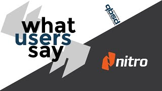 Nitro Software: The PDF Productivity Tool - What Users Say
