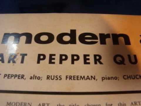 3377 Art Pepper Quartet Modern Art