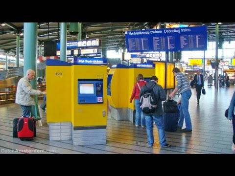 How To Buy A Trainticket In The Netherlands?