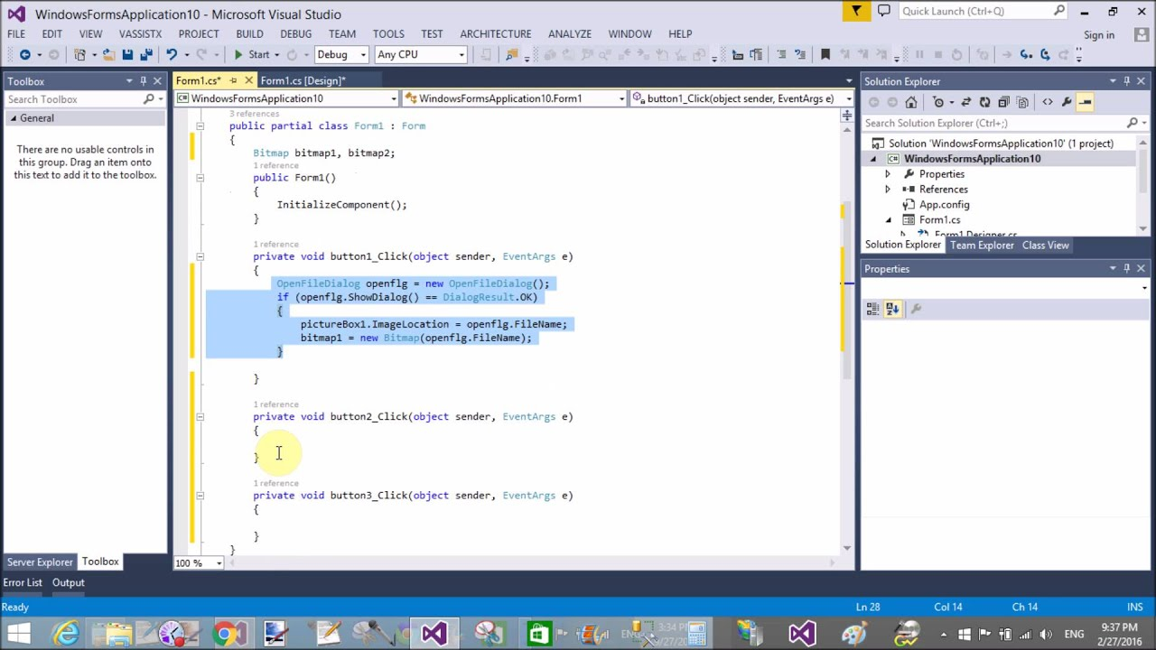 Finger print biometric system example Comapre Image in c#