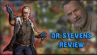 DOCTOR STEVENS REVIEW - The Walking Dead : Road to Survival