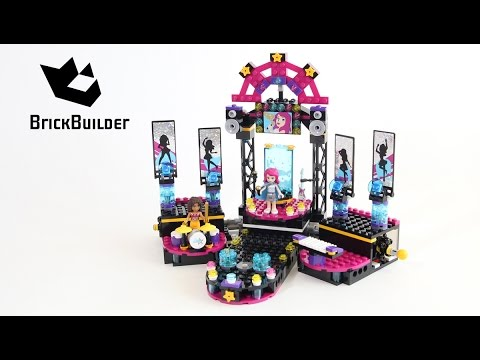 Lego Friends 41105 Pop Star Show Stage - Lego Speed Build