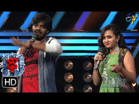 Lasya Funny Task   Dhee 10   27th September 2017  ETV Telugu