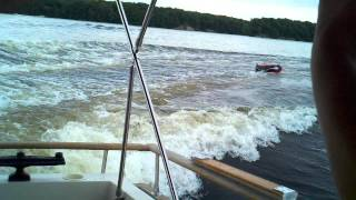 Cabin cruiser tubing who needs a wake board boat.